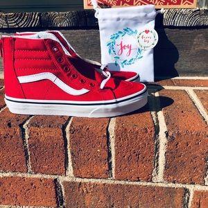 Vans Kids SK8 Hi Zip Sneakers